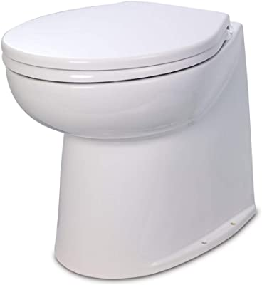 Boat <span>Electric Marine Toilet</span> (Fresh or Raw Water Rinse) [Jabsco] Picture