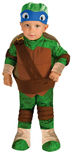 Rubies Teenage Mutant Ninja Turtles Leonardo Toddler Costume 3T/4T]()