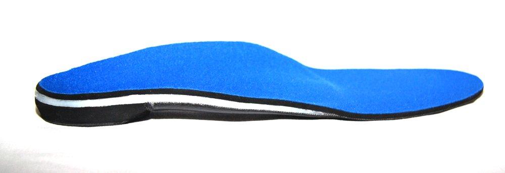Custom Orthotics - Full Length Featuring Blue Spenco Top Covers