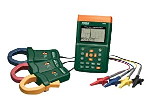 Extech 382095 Power Meter and Harmonics Three-Phase