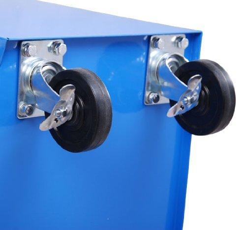 Color Azul Carro de Herramientas met/álico 5 cajones y 4 ruedas