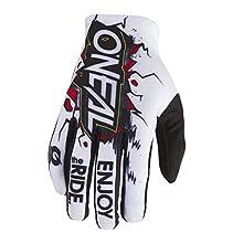 O'Neal 0391-037 Matrix Unisex-Child Youth Glove (White, 7 XL), 2 Pack
