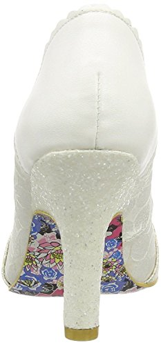 Irregular Choice Smartie Pants Cream Damen Hi Heels Schuhe