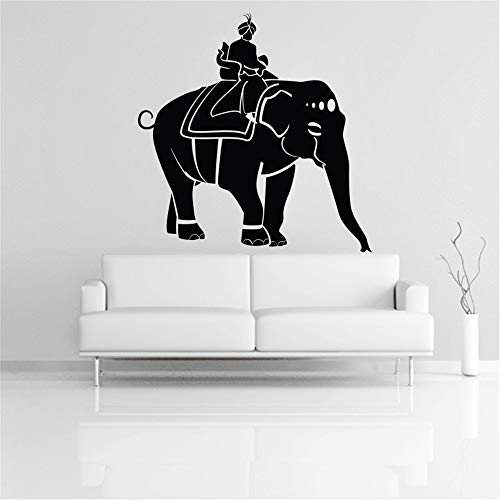 Wall Sticker Quote Wall Decal Funny Wallpaper Removable Vinyl Prince On Elephant for Living Room Bedroom -