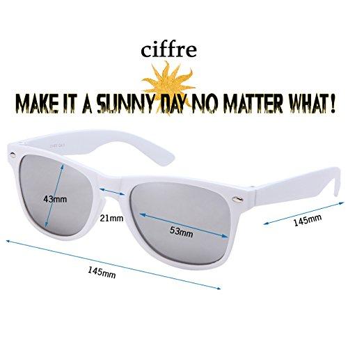 coloris style Marron paire lunettes Silber Nerd lunettes Verspiegelt de 80 différents de et aviateur style clear vintage Weiß Wsw disponibles modèles soleil wayfarer style env Pw5qaRw