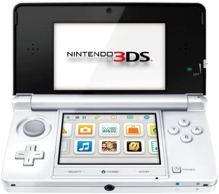 Console Nintendo 3DS - blanc arctique [Importación francesa ...