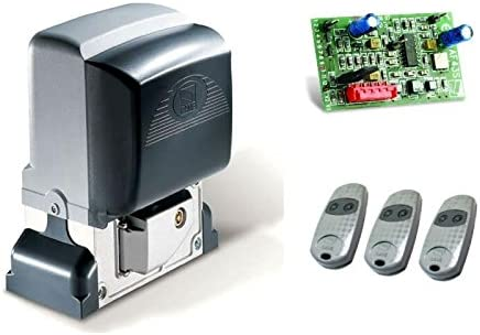 CAME BX-78 - Motor de puerta corredera + 3 mandos a distancia TOP432-EE para puertas correderas con un peso de hasta 800 kg: Amazon.es: Bricolaje y herramientas