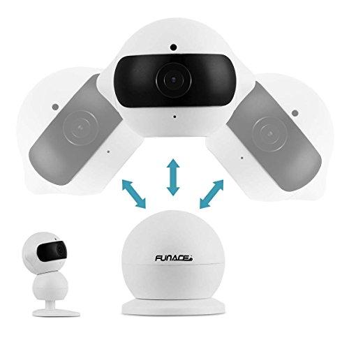 FunAce Robot WiFi Dual HD Optic Camera with 8 GB MicroSD Card