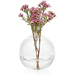 Prologue Orb 3-piece Handmade Glass Bud Vase Set