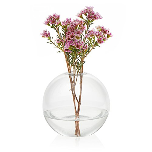 Prologue Orb Handmade Glass Bud Vase, Set of 3 ()