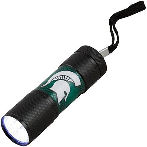[NCAA Michigan State Spartans LED Flashlight] (Spartan Mark)