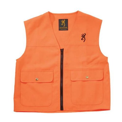 Vest Shooting Cloth (Browning, Safety Blaze Overlay Vest, XXX-Large)