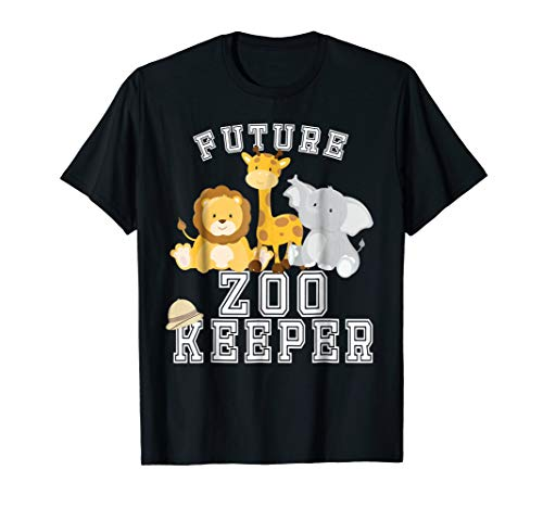 (Future Zoo Keeper Costume T-Shirt for Adults and)