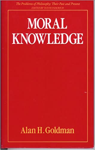 Amazon com: Moral Knowledge (Problems of Philosophy
