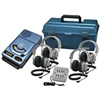Hamilton Buhl 4 Person CD/MP3 Listening Center with Deluxe Headphones