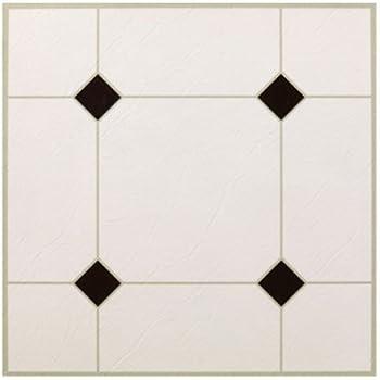 max kd0309 5th avenue black white peel stick vinyl floor tile 12 x 12 ceramic tiles. Black Bedroom Furniture Sets. Home Design Ideas