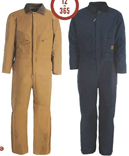Averill's Sharper Uniforms Men's Industrial Deluxe Insulated Coverall 5XL Navy (Twill) ()