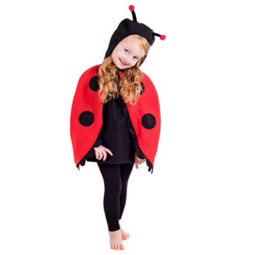 Toddlers Ladybug Costume Kids Cute Ladybird Animal Childrens Outfit - Large