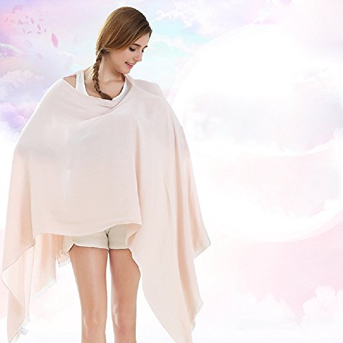 Mother's Arms Breastfeeding Nursing Cover Healthy Baby Care Kit-Public Nursing Not Embarrassed-Extra Wide for Full Coverage,100% Breathable Soft Cotton,Stylish and Elegant,Open Hole Section,Beige