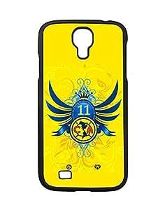 Samsung Galaxy S4 (I9500) Fundas Case Club de Futbol Am¨¦rica FC Logo, Creative Team Logo Case Fundas for Galaxy S4 Schwarz Phone Case Bumper for Man
