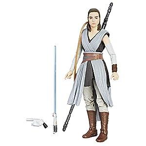 Star Wars The Black Episode 8 Series Rey (Jedi Training), 6-inch