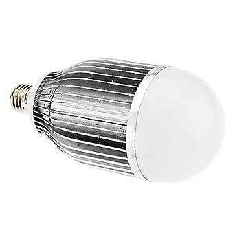 Tiners-E27 18W 6000K 1350LM del poder 18xHigh Luz Blanca Bombilla LED Vela Cool (
