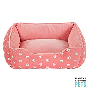 Amazon.com : Martha Stewart Cuddler Pet Bed Pink : Pet