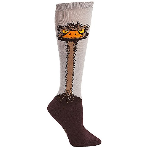 Roller Derby Costumes (Sock It To Me Womens Ostrich Knee High Socks Multi)