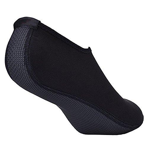 Unisex Wassersportschuhe Strandschuhe Surfschuhe für Damen Herren Rutschfeste Sohlen Couple Shoes Wasserschuhe Strandschuhe Badeschuhe Surfschuhe Black