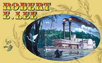 アメリカレベル 1/271 SSP ロバート・E・リー 蒸気船 00328 プラモデルの商品画像