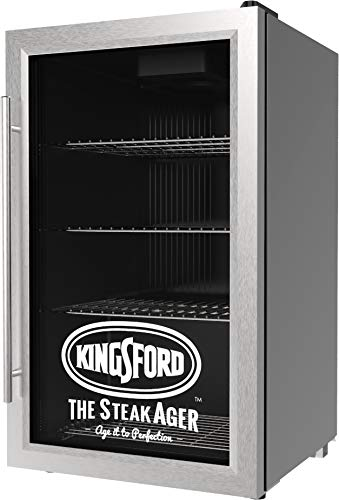 Kingsford SteakAger - MASTER 45 Refrigerator - DRY-AGING 45lbs Grocery BEEF to 5 Star Steakhouse steaks AT HOME - Lead the Revolution - MASS PRODUCE DRY AGE STEAKS - The ()