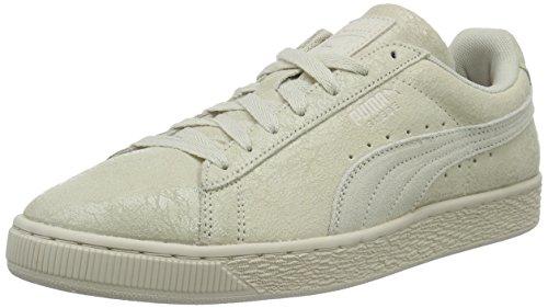 Puma Damen Suede Remaster Sneaker Elfenbein (Birch-Birch 02)