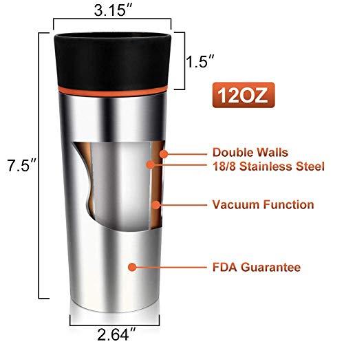 Drinking Travel Thermal Mug Proof Leak 360° With Coffee LidEmisk F1lKcTJ3