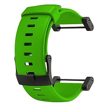 SUUNTO Core Green Rubber Strap Correa para Relojes, Unisex, Verde, Talla Única: Amazon.es: Deportes y aire libre