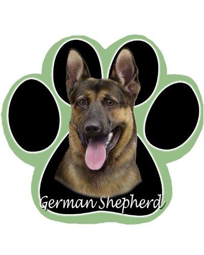 (German Shepherd Dog Paw Non-Slip Mousepad)