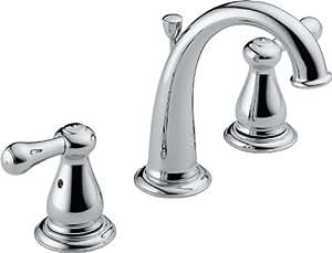 Delta Faucet 3575-MPU-DST Laland Two Handle Widespread Bathroom Faucet, Chrome