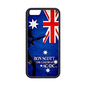 [MEIYING DIY CASE] For Apple Iphone 5 5S Cases -AC/DC Music Band-IKAI0447786