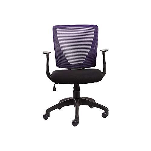 Staples Vexa Mesh Chair, Purple