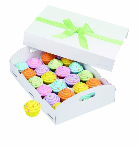 Wilton 415-0729 Cupcake Box Folding Tray