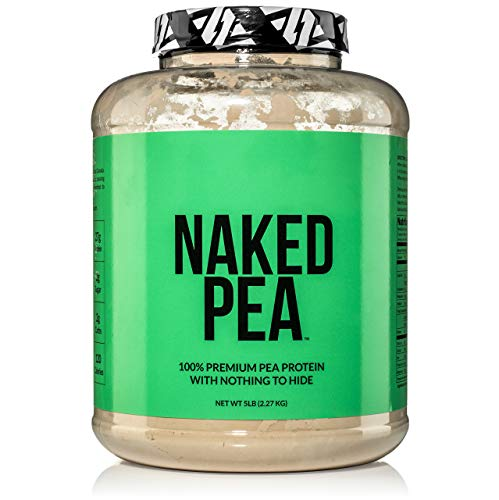 (5LB 100% Pea Protein Powder from North American Farms - Vegan Pea Protein Isolate - Plant Protein Powder, Easy to Digest - Speeds Muscle Recovery)