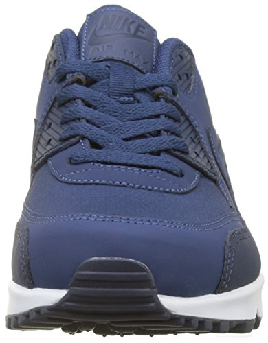 Navy Essential 90 Herren Grau Max Air Obsidian Weiss NIKE Low Top IA1Oz1x
