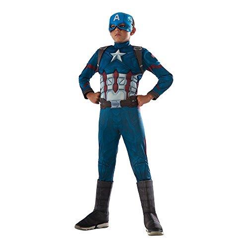 Rubie's Costume Captain America: Civil War Deluxe Captain America Costume, (Captain America Costumes For Sale)