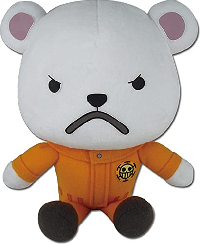 Great Eastern Entertainment One Piece Bepo Collectible Plush Toy, 7 #34;