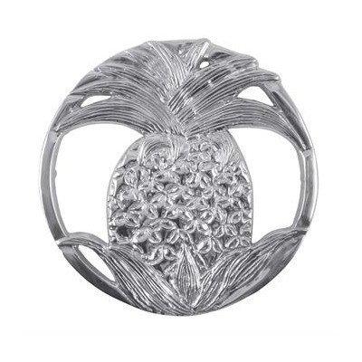 Mariposa Pineapple - MARIPOSA Pineapple Trivet, Silver