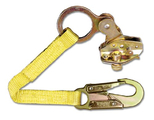 Guardian Fall Protection 01500 GRAB-R Rope Grab with 18-Inch Extension Lanyard by Guardian Fall Protection (Image #1)