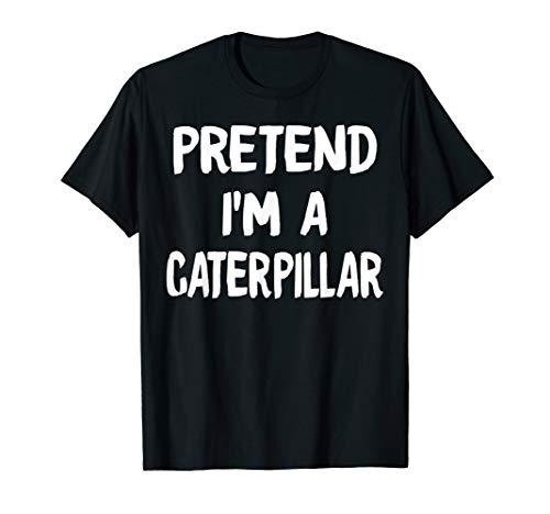 Pretend I'm A CATERPILLAR Halloween funny easy lazy Costume
