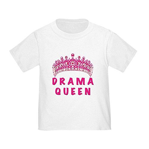 CafePress Drama Queen Toddler T-Shirt Cute Toddler T-Shirt, 100% Cotton -