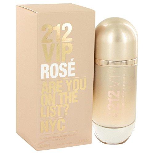 Carolina Herrera Beauty Gift 212 Vip Rose Perfume 2.7 oz Eau De Parfum Spray for Women