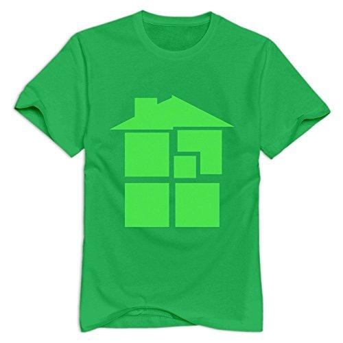 Stabe Mens Homestuck Logo T Shirt 100  Cotton Swag M Forestgreen
