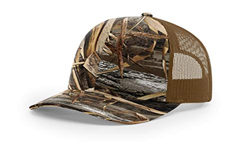 Richardson Realtree Camo Custom Embroidered Snapback - Free Logo Setup -  Pack of 5 dea1a7420e28